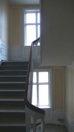 trapperum før elevator frederiksberg alle