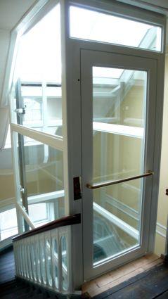 elevator frederiksberg allé : Elevatoren giver også adgang til tagetagen