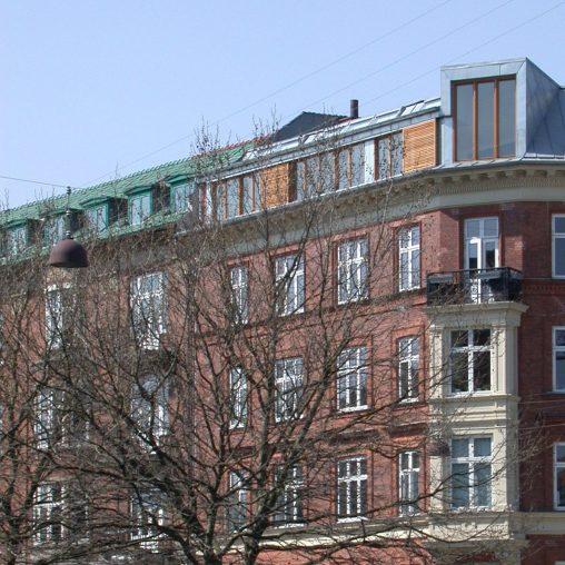 Facade Åboulevarden 48-beskaaret